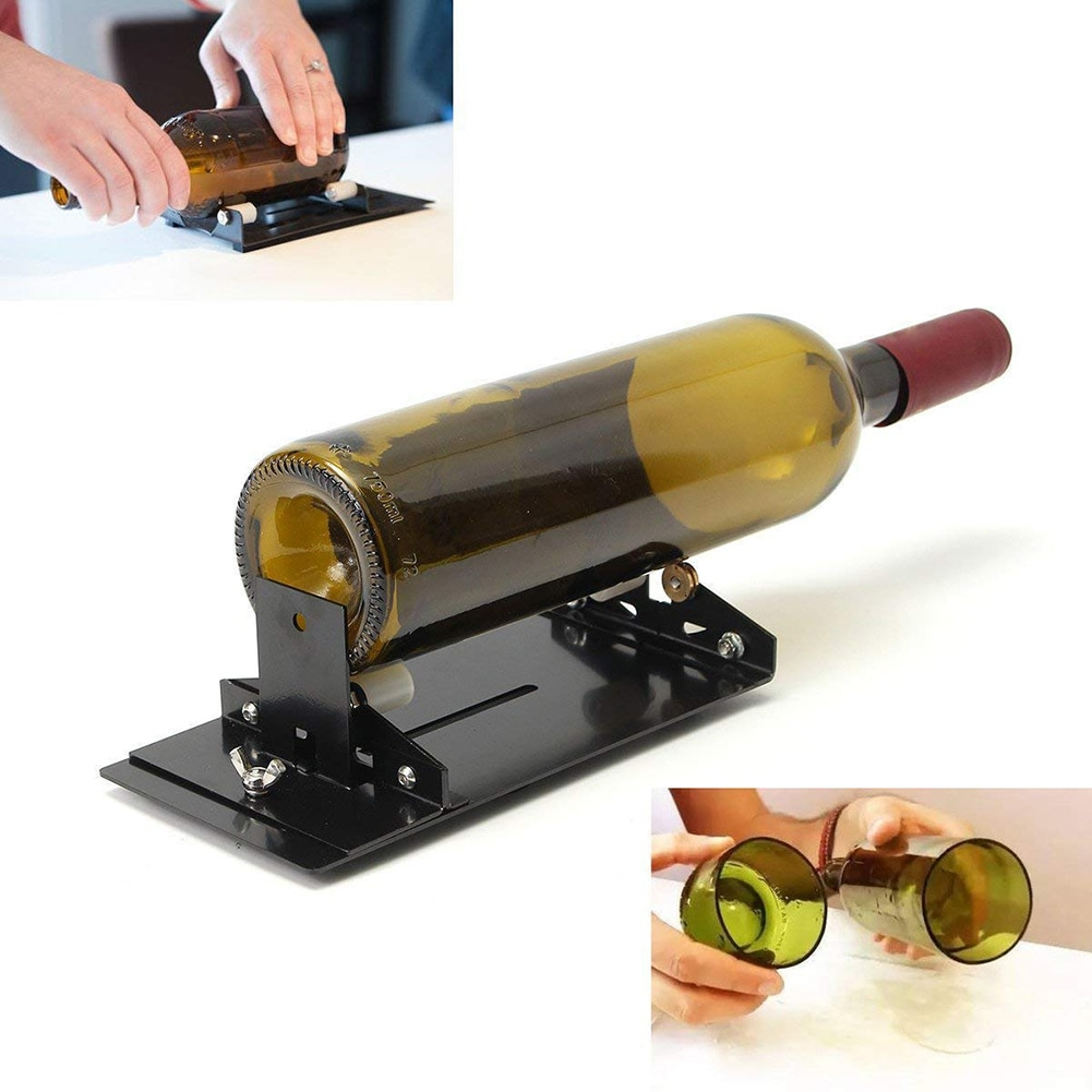 New Glass Bottle Cutter Tool Professional Bottles Cutting Glass Bottle-cutter DIY Cuting Machine Wine Beer diy glass bottle cutter