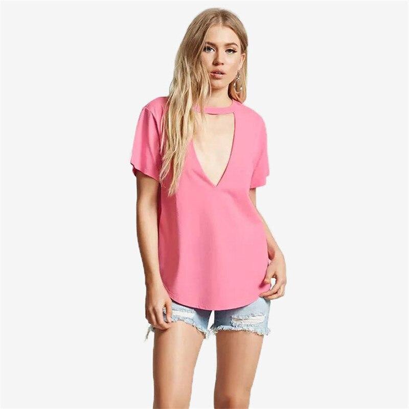 Женские ажурные пикантные топы, футболки, розовые, белые однотонные топы с круглым вырезом, стандартные размеры, футболки для женщин и девоч...