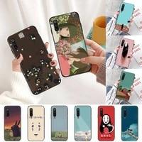 spirited away ghibli miyazaki anime phone case for xiaomi redmi 5 5a plus 7a 8 note 2 3 4 5 5a 6 7 go k20 a2 cover funda shell