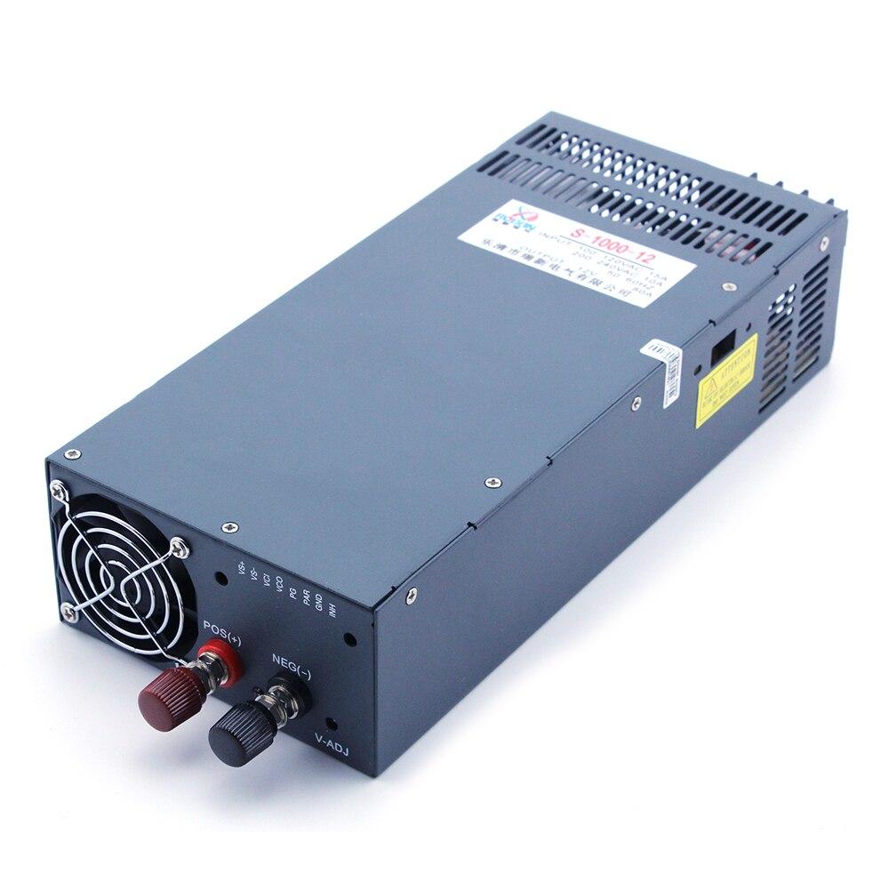 مصدر طاقة لشريط قابل للتعديل ، نمط كبير ، 2020 واط ، 24 فولت 48 فولت ، تيار متردد إلى تيار مستمر 12 فولت ، 1000