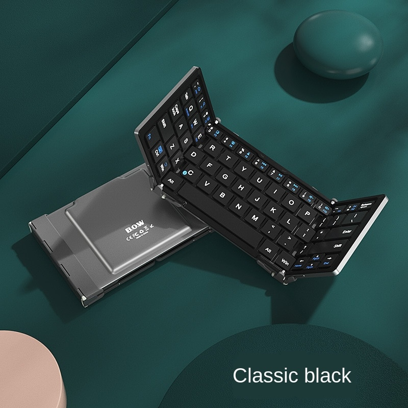 Tri-fold keyboard Applicable for Apple Huawei tablet wireless external laptop with mobile phone enlarge