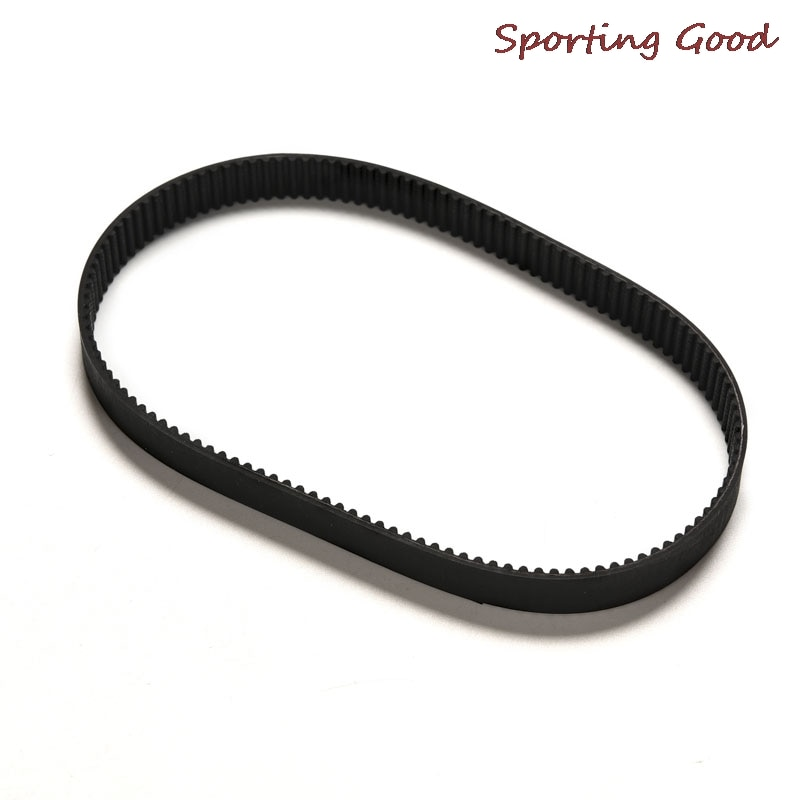 5pcs timing belt 384 12 3m 12mm width 384mm length Replacement Length 384mm Drive Belt HTD 384-3M-12 Escooter Electric Scooter