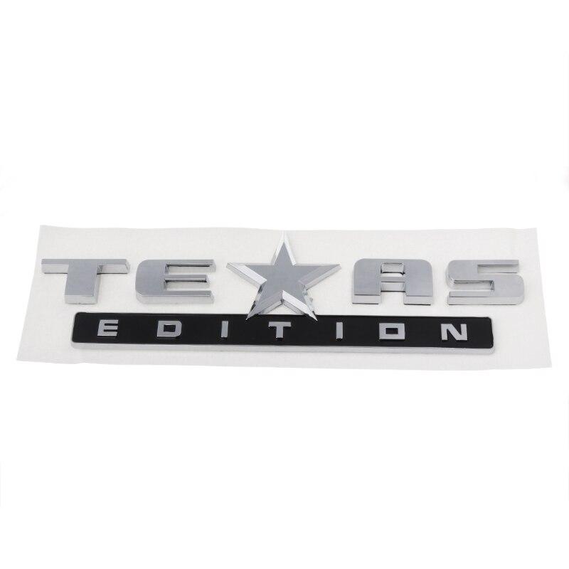 TEXAS EDITION Emblem 3D Universal Aufkleber Für Chevy Silverado GMC Sierra Lkw