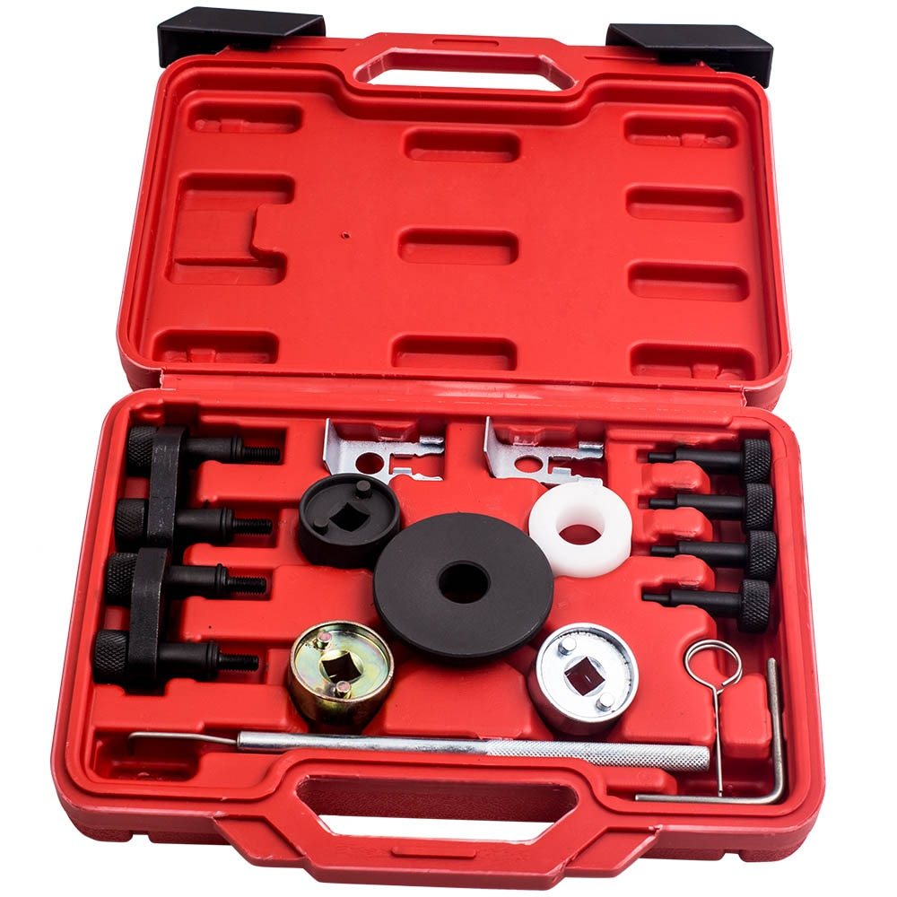 Herramienta de bloqueo de temporización del motor Kit para AUDI VAG VW 1,8/2,0 TFSI EA888 Auto Kit de herramienta de T10352 T40196 T40271 T1036