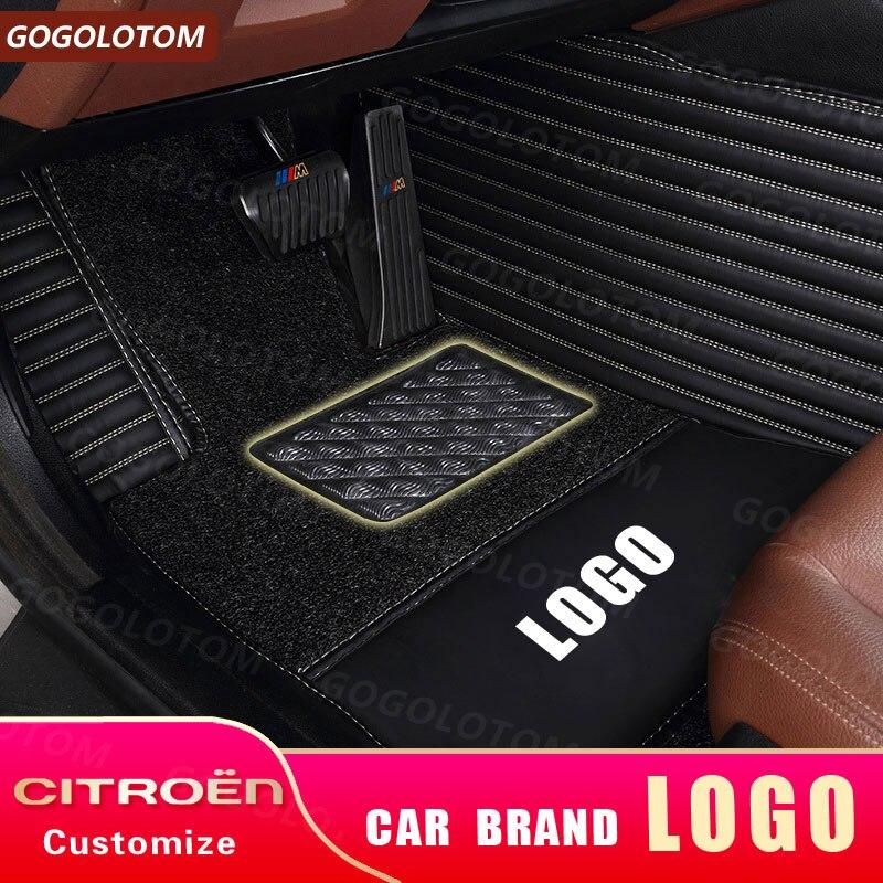 Custom Car Floor Pads for Jeep Cherokee Kj Kk KL XJ LIBERTY Commander XK XH  Grand Cherokee 2 3 4 WJ WG WH WK WK2 SUV Auto Mats