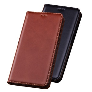 Crazy Horse Genuine Leather Card Slot Holder Holster Cover For Asus ZenFone 3 MAX ZC553KL/ZenFone 3 MAX ZC520TL Phone Case Coque
