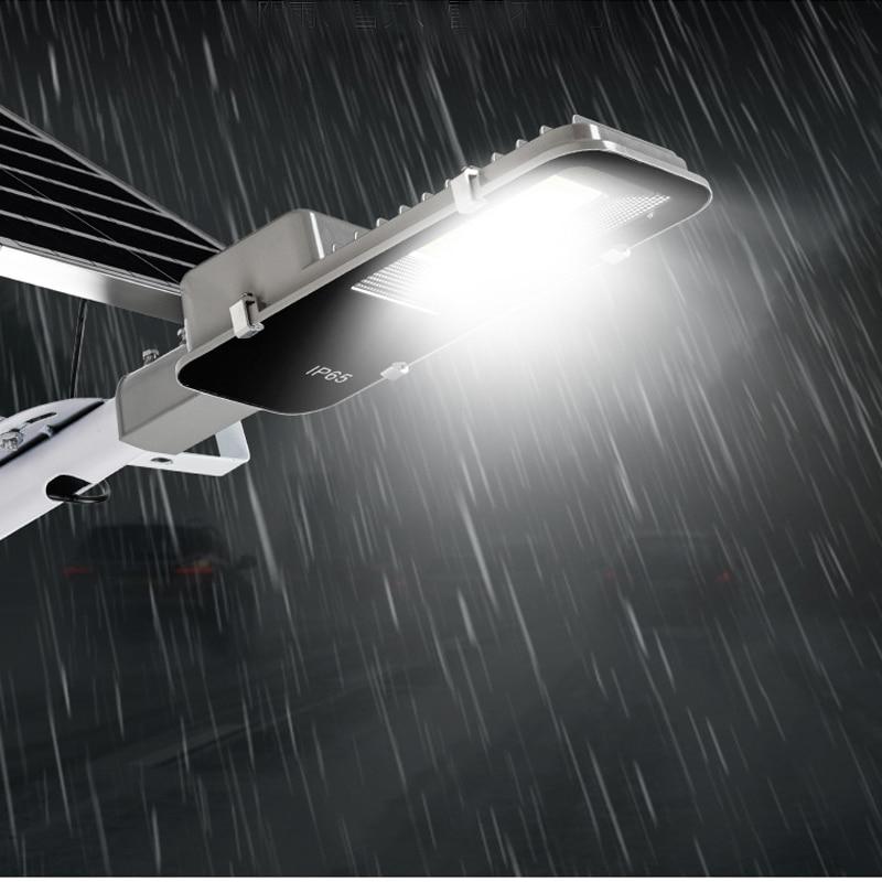 Street LED Lens Street Floodlight Solar Panel Lighting  Lamp Road Lamp Wireless Outdoor Waterproof Road  Lighting  Long Time enlarge