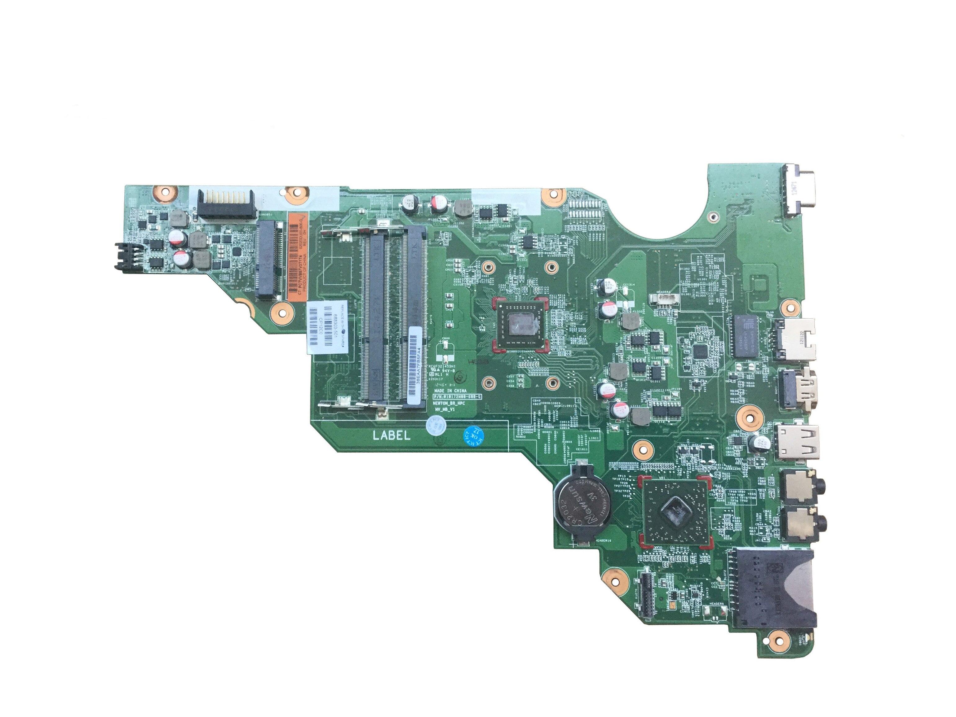 Placa-mãe original 689072-001 do portátil de alta qualidade para hp 655 E1-1800 689072-501 689072-601 notebook mainboard 100% testado