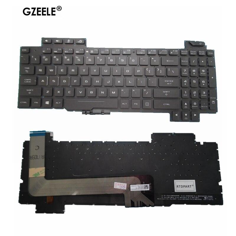 الإنجليزية الخلفية لوحة المفاتيح ل ASUS ROG Strix GL503 GL703 GL503V GL503VD GL503VD-DB71 GL503VD-DB74 GL503VM GL503VS لنا