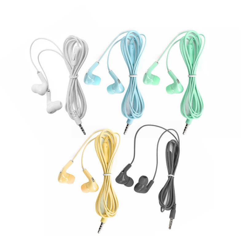 Organizador de cables para auriculares deportivos, dispositivo de audio con cable, 3,5mm,...