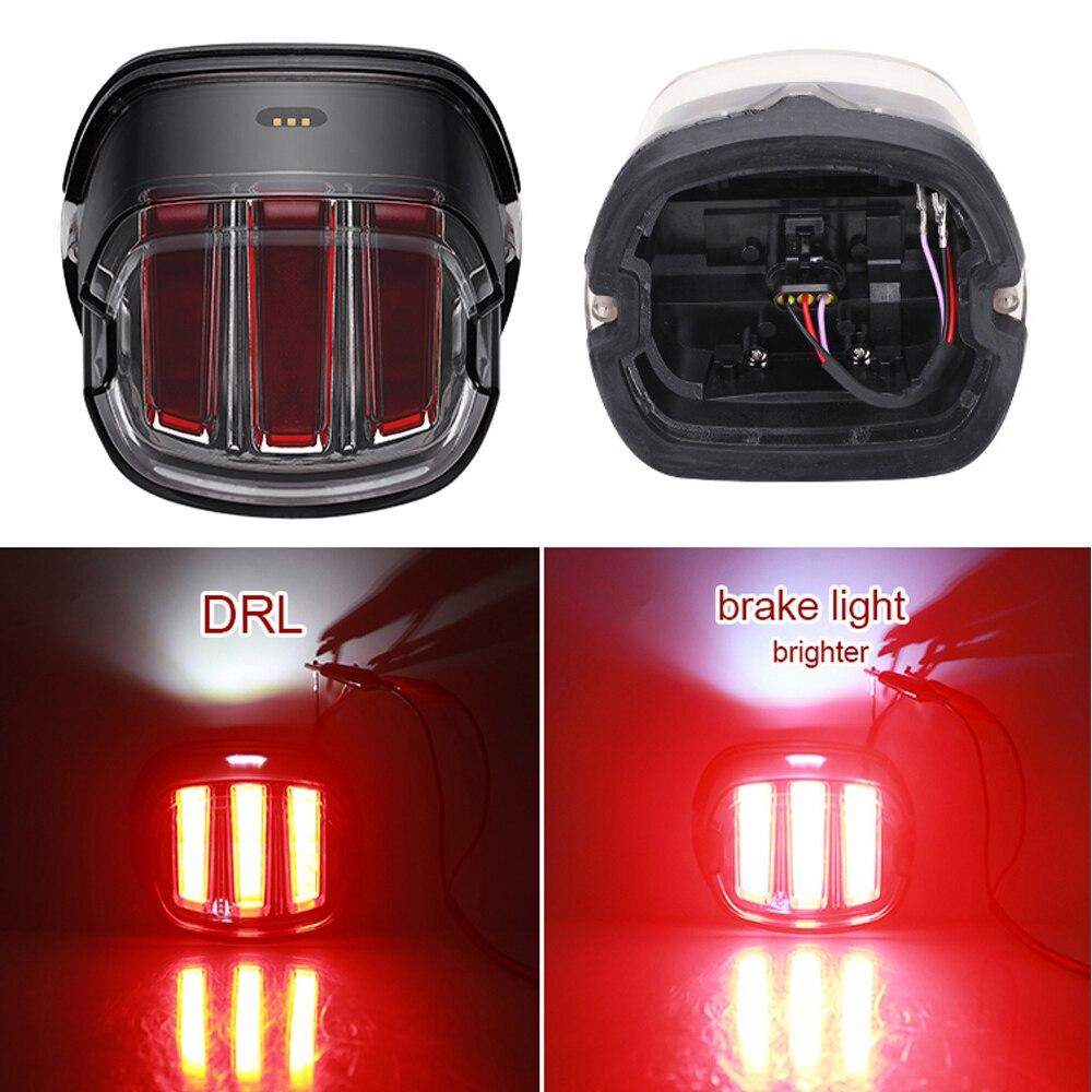 Мотоцикл светодиодный фонарь светильник для Harley Touring Sportster XL883 тормозной светильник для Harley Dyna Touring сзади Предупреждение сигнал поворота
