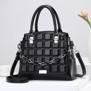 New Crocodile Pattern Handbag In Spring 2021 Leather One Shoulder Women's Bag Fashion Messenger Leather Bag
