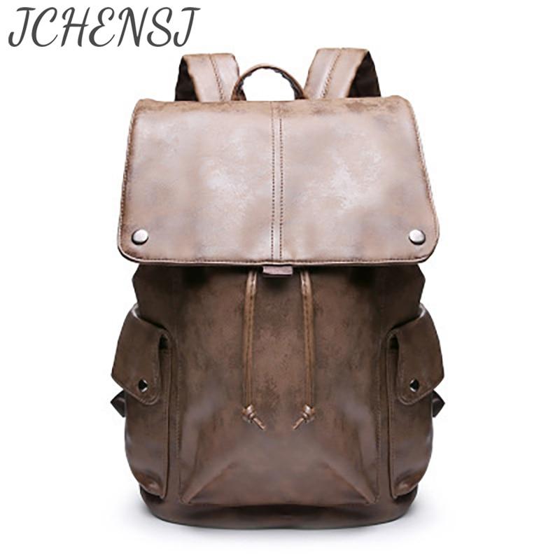 рюкзак школьный Мужской рюкзак JCHENSH, рюкзак мужской вместительный рюкзак для ноутбука для мужчин, дизайнеры, дорожный рабочий школьный мужс...
