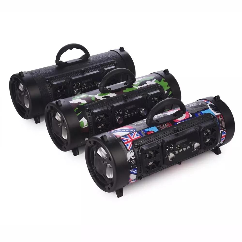 16W Portable Column Bluetooth-compatible Speaker Move KTV 3D Sound System Sound Bar Subwoofer Music Wireless Speaker FM Radio enlarge