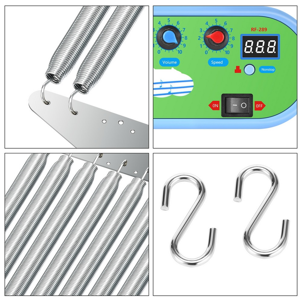 Electric Baby Swing Cradle Controller Baby Sleeping Swing Bouncer Rocking Soothing Electric Cradle