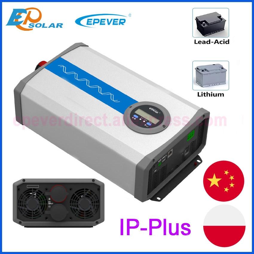 EPEVER جديد IP-Plus موجة جيبية نقية العاكس 1000 واط 1500 واط 2000 واط 3000 واط 4000 واط 5000 واط IP1500-11-Plus IP2000-22-Plus IP5000-42-Plus