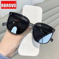 rbrovo oversized sunglasses women retro square women sun glasses 2021 fashion brand designer sunglasser classic gafas de mujer