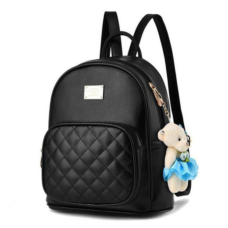 2021, Модный женский рюкзак для девочек, рюкзаки, черные рюкзаки, женские модные сумки для девочек, женский черный рюкзак LA264