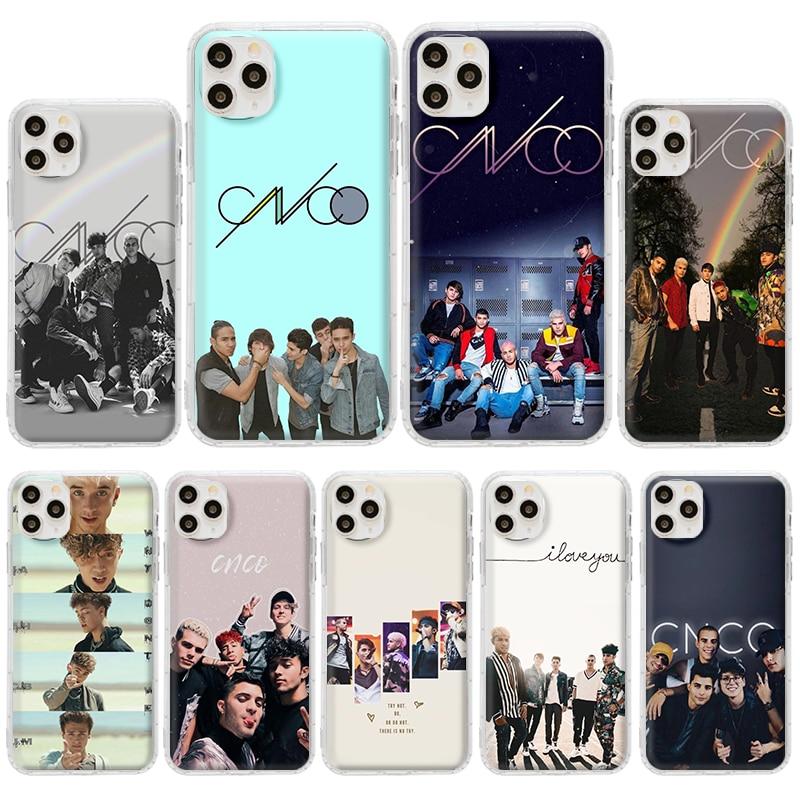 Cnco banda caso para Apple iPhone 11 Pro 7 XS Max 6 8 6S Plus 5 XR X 5S SE 2020 clara suave Tpu de bolsas de teléfono cubierta