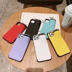 Teyomi caso para iphone 11 pro max xs max xr x 10 8 7 plus capa para airpods 2 1 titular caso duro para airpods caso venda quente