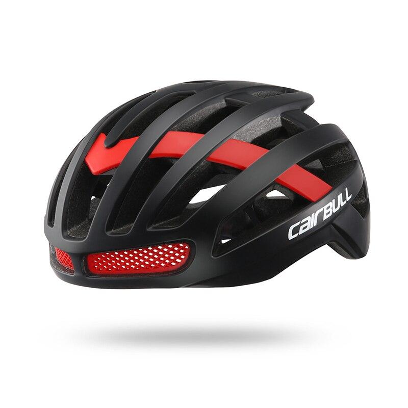 Casco de ciclismo ultraligero CAIRBULL en-moldeado MTB bicicleta de carretera casco de bicicleta XC DH Racing tapa de seguridad 26 conductos de aire M/L