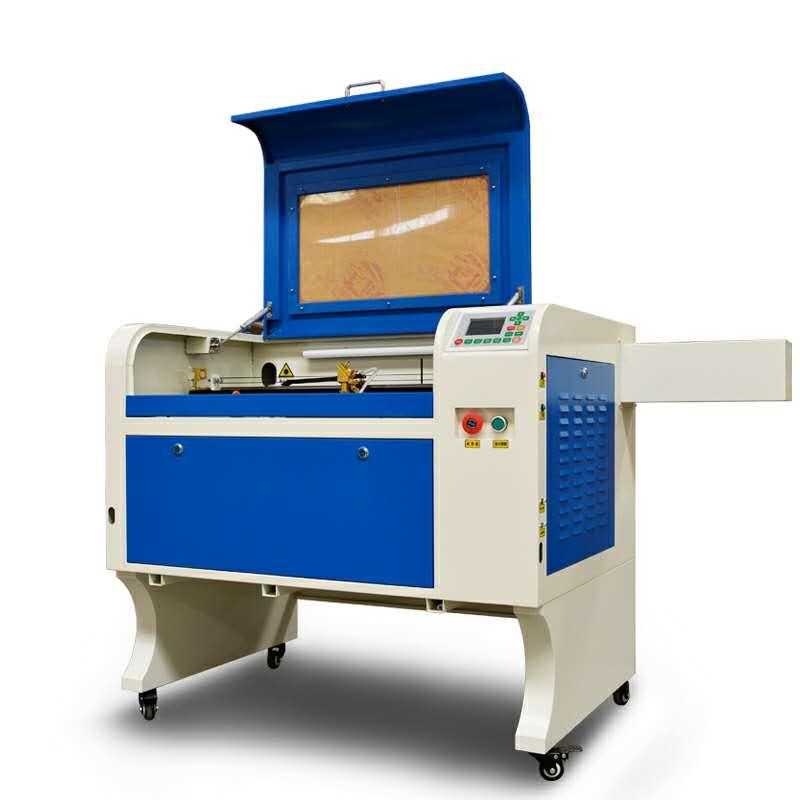 6090 75w rail droit haute correspondance machine de gravure laser stimulation thermique tube lumineux ruida système peut soutenir hors ligne