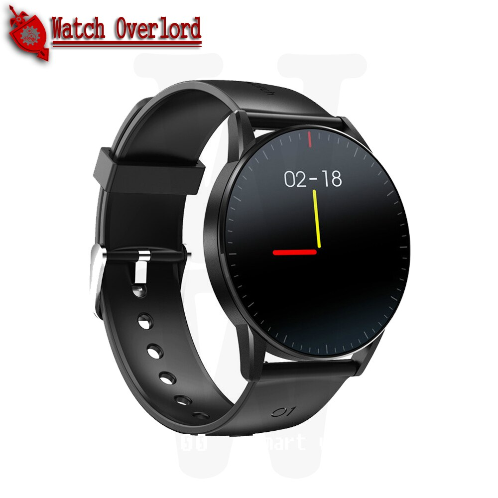 WO NEW QS09 Smart Watch IP67 Waterproof Heart Rate Sleep Monitoring Fitness Tracker Music Control Sport HD Full Touch Screen