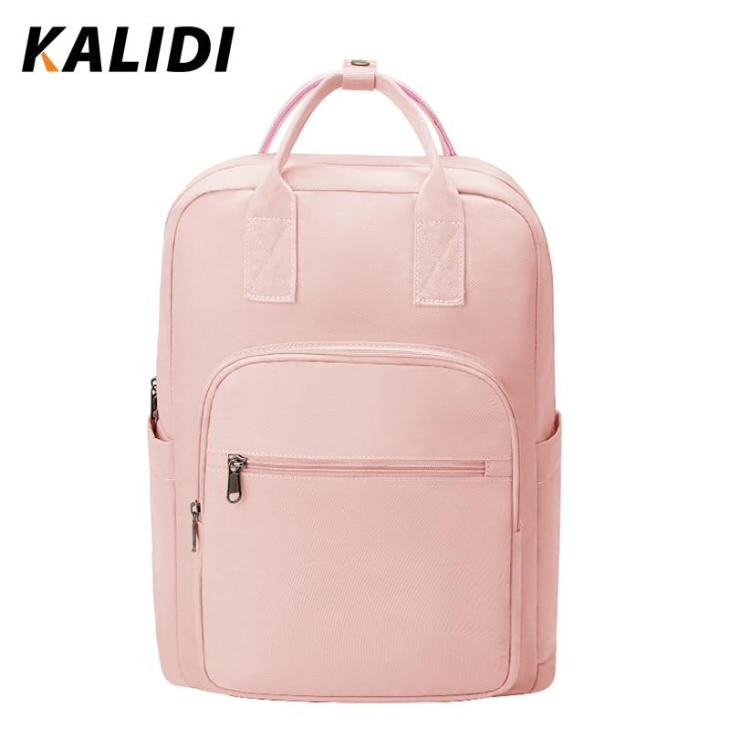 KALIDI модный рюкзак женский водонепроницаемый для ноутбука 15 6 дюйма подростков