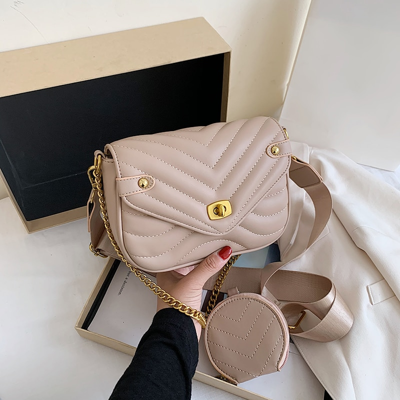 ATLI Solid Color Small Simple Crossbody Bags For Women 2021 New Shoulder Simple Bag Female Fashion H