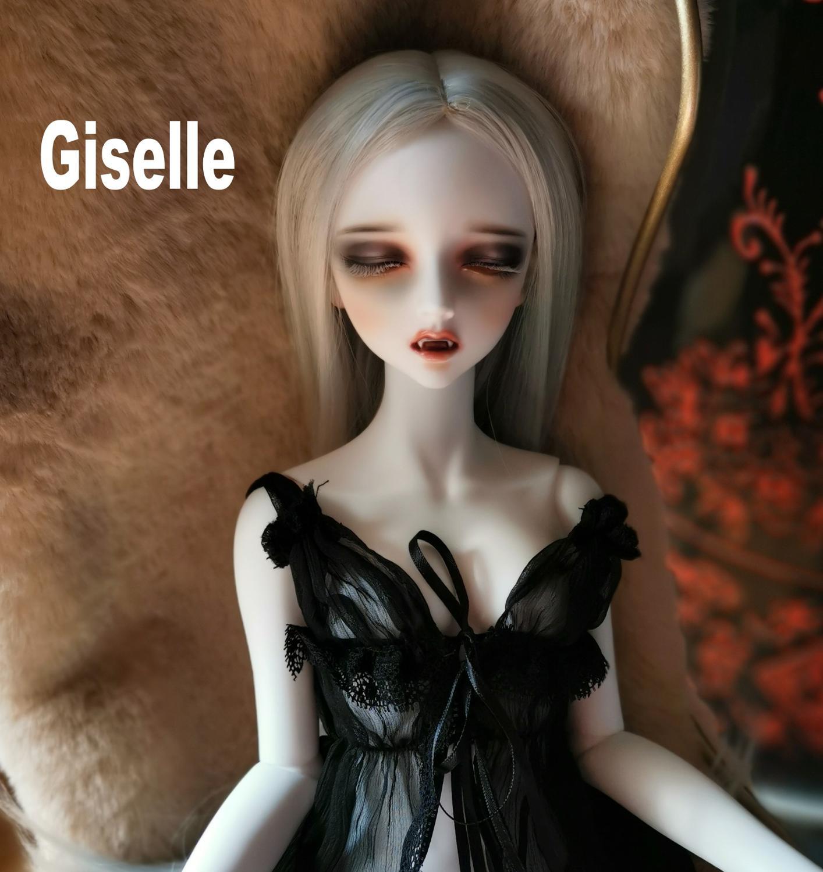 BJD doll Vampire Giselle beautiful girl 1/3 size BJDZONE High Quality Resin Toys birthday gift Christmas gift