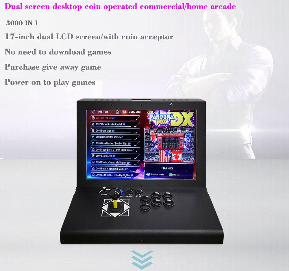 Mini machine de jeu vidéo darcade de jeu avec la boîte de pandore DX