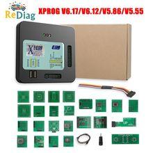 Meilleur prix X prog-m Xprog M V6.17/V6.12/V5.86/V5.55 ECU programmeur doutil de réglage de puce XProgM boîte 8 Soic Clip ECU programmeur