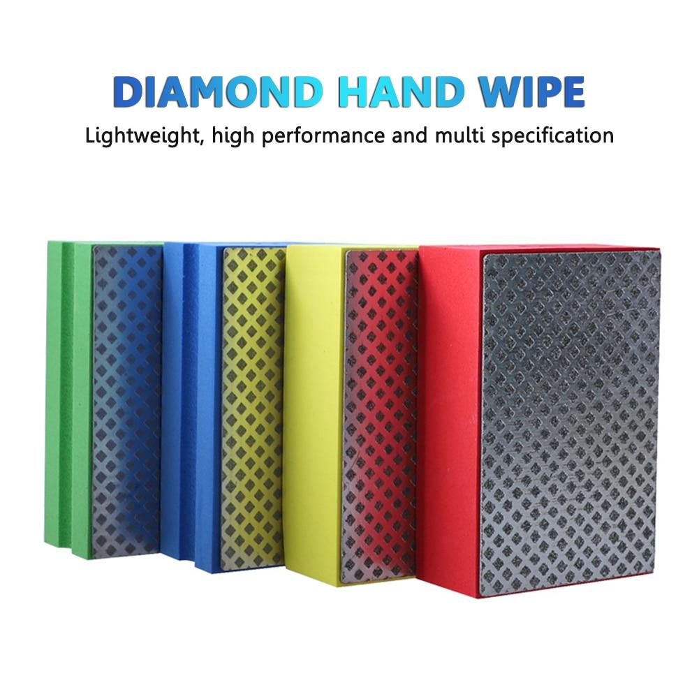 Профессиональные алмазные шлифовальные колодки 90*55 мм, шлифовальный блок для плитки, стекла, камня, мрамора, керамики, абразивный шлифоваль... балеринка для плитки d20 90 мм