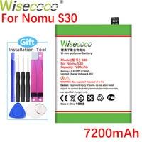 Аккумулятор Wisecoco S 30 для Nomu S30, 7200 мАч