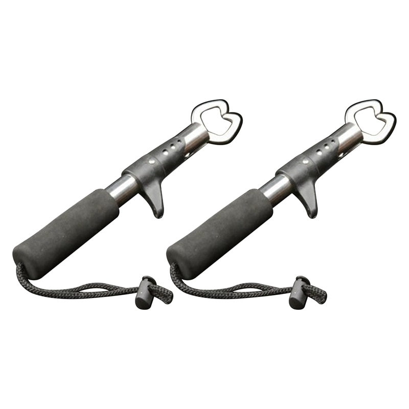 Portable Stainless Steel Fishing Gripper Clamp Grabber Tool Fish Controller Fishing Plier Fishing Accessory Tool