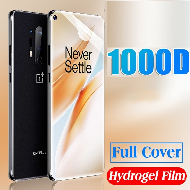 9D Full Protective For Oneplus 8T 7 7T 6 6T 5 5T Hydrogel Film Screen Protector Oneplus Nord N10 5G