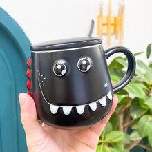 Mok Persoonlijkheid Creatieve Trend Grappige Dinosaurus Buik Cup Leuke Cartoon Kantoor Cup Keramische Mok Koffie Kopje Water Cup B200103