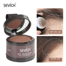Sevich Hairline Powder 13 Color Hair Root Cover Up Water Proof Instant Modified Repair Hair Shadow P