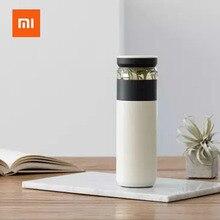 Original Xiaomi Fun Home Portable Water Vacuum Cup 520ml Outdoor Travel Tea water separation Bottle Warm 3 in 1 Office Bottle