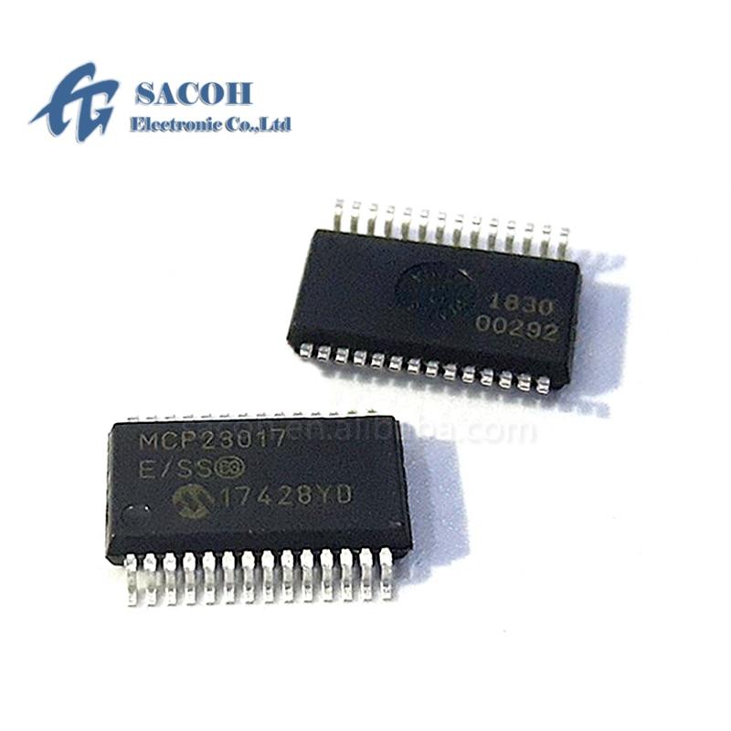 10PCS/lot New OriginaI MCP23017-E/SS or MCP23017-E/SO or MCP23017 MCP23S17-E/SS SSOP-28 16-Bit I/O Expander
