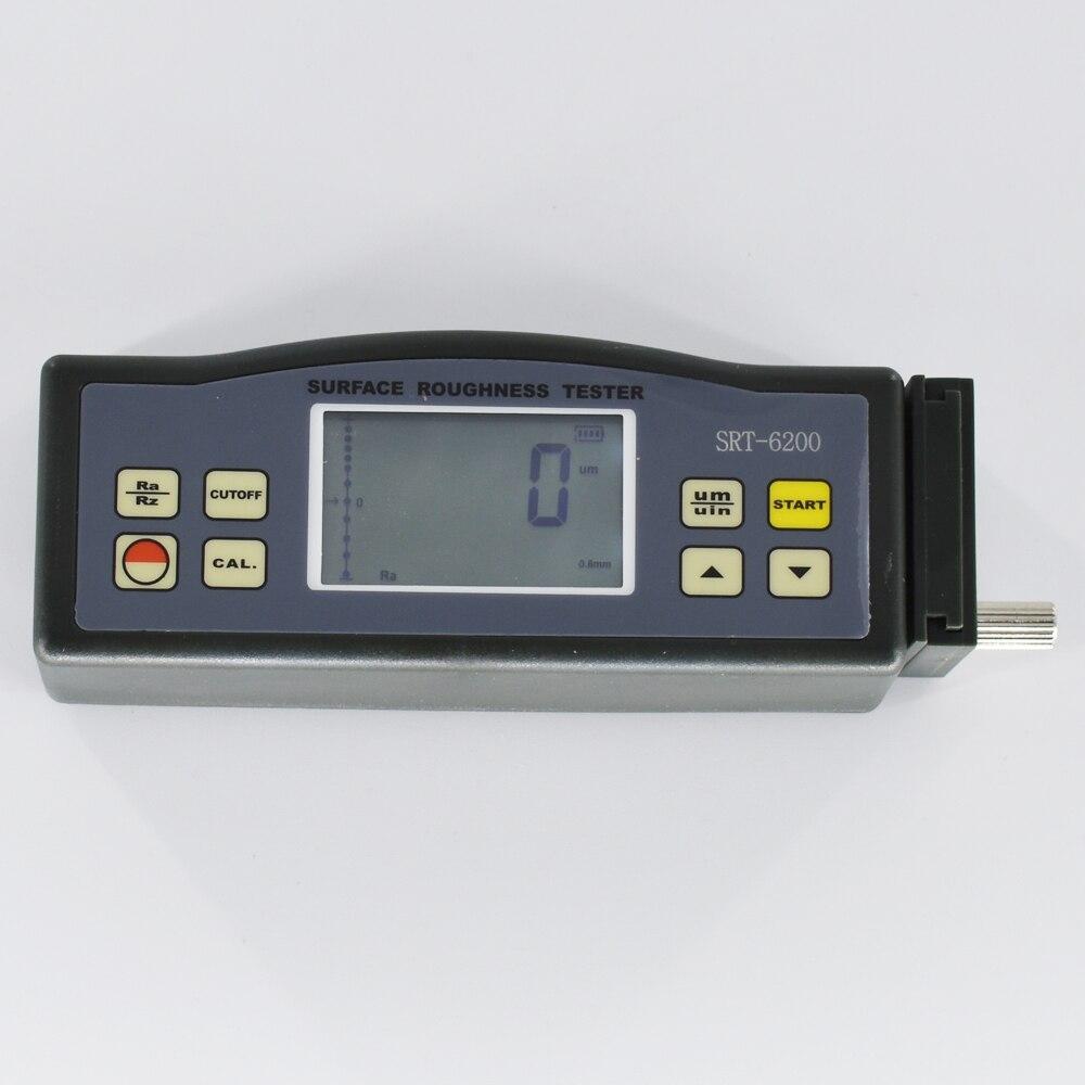 أداة قياس خشونة الأسطح SRT-6200 المحمولة خشونة متر Ra (0.05 ~ 10.00 um) Rz (0.020 ~ 100.0 um)