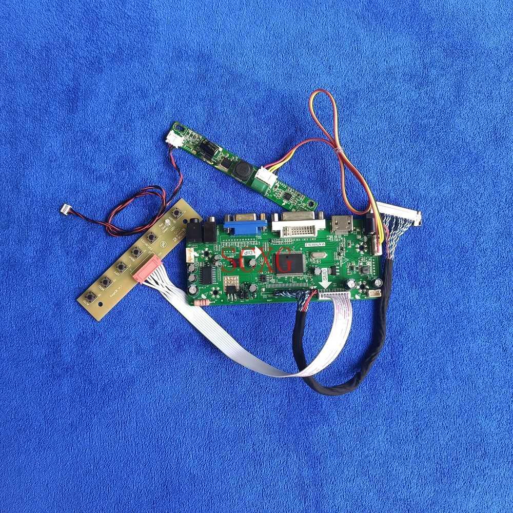 لتقوم بها بنفسك عدة MNT68676 محرك تحكم مجلس LED لوحة ال سي دي 1920*1080 صالح M215HGK/M215HJJ/M215HJK DVI VGA HDMI-متوافق 30 دبوس LVDS