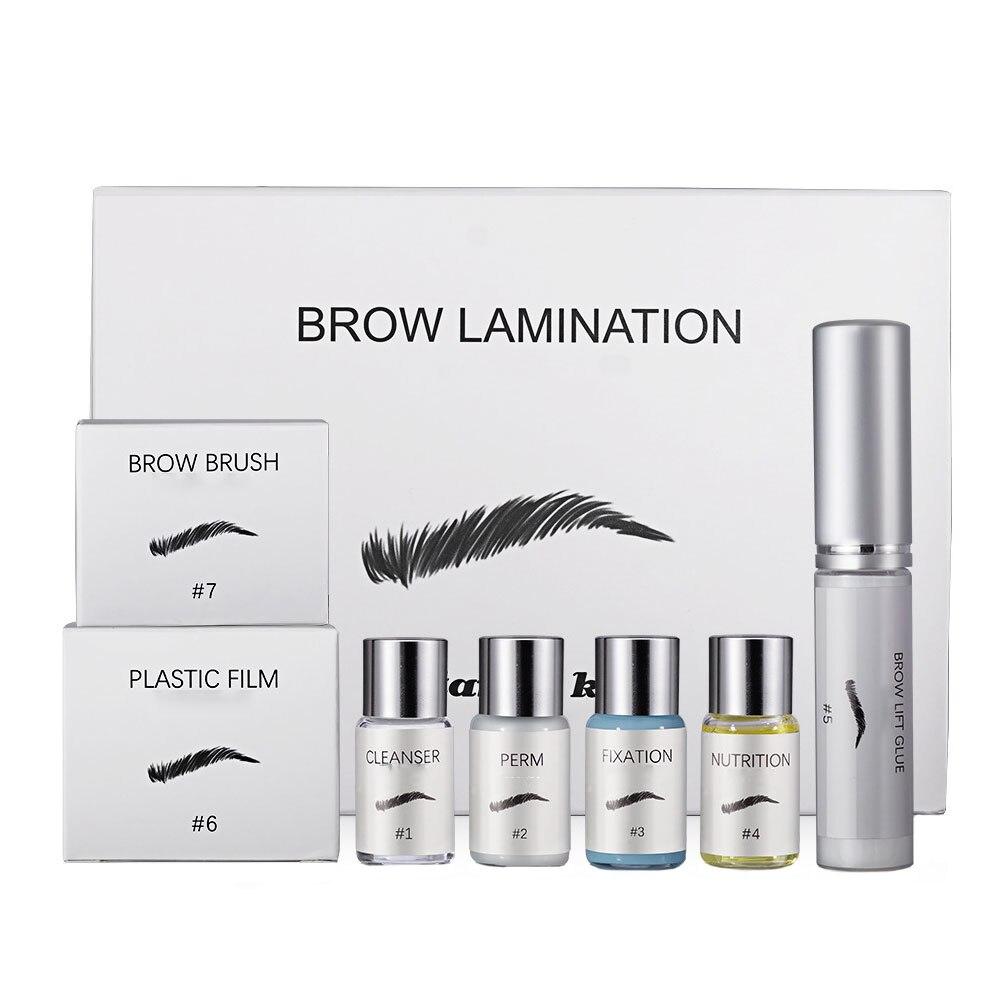 Eyebrow Lift Beauty Brows Kit Lamination Kit Eyebrow Lifting Styling Kit Eyebrow Perming for Home Use