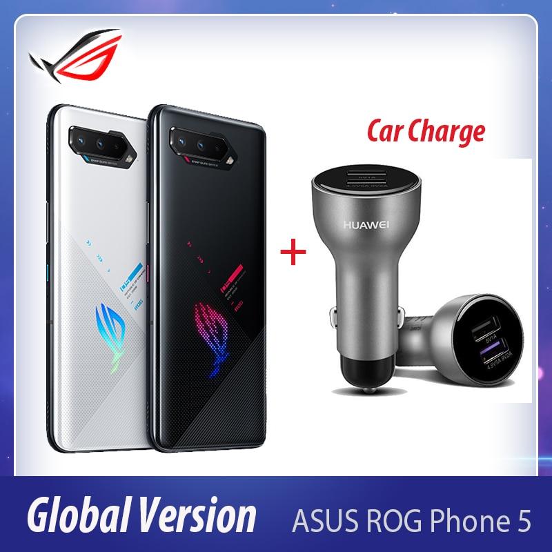 NEW ASUS ROG Phone 5 Ultim Gaming Phone Snapdragon888 16/18RAM 256/512ROM 6000mAh 5G ROG5 Pro Smartphone