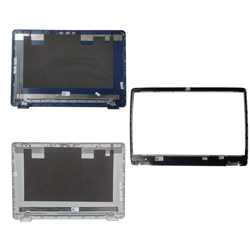 حافظة كمبيوتر محمول جديدة لأجهزة الكمبيوتر المحمول Dell Inspiron 15 5584 شاشة LCD الغطاء الخلفي المحمول الفضة 0GYCJR GYCJR/LCD الحافة