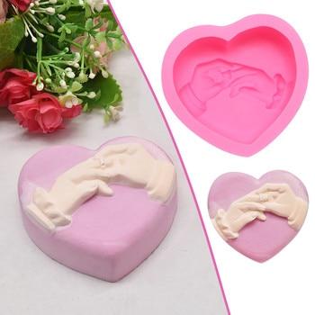 New Creative Silicone Mold Baking Fondant Chocolate Mold Epoxy Plaster Mold Support
