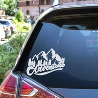 newest mountain car wrap funny car sticker for fuel cap ef for window car body decal motorcycle decorations