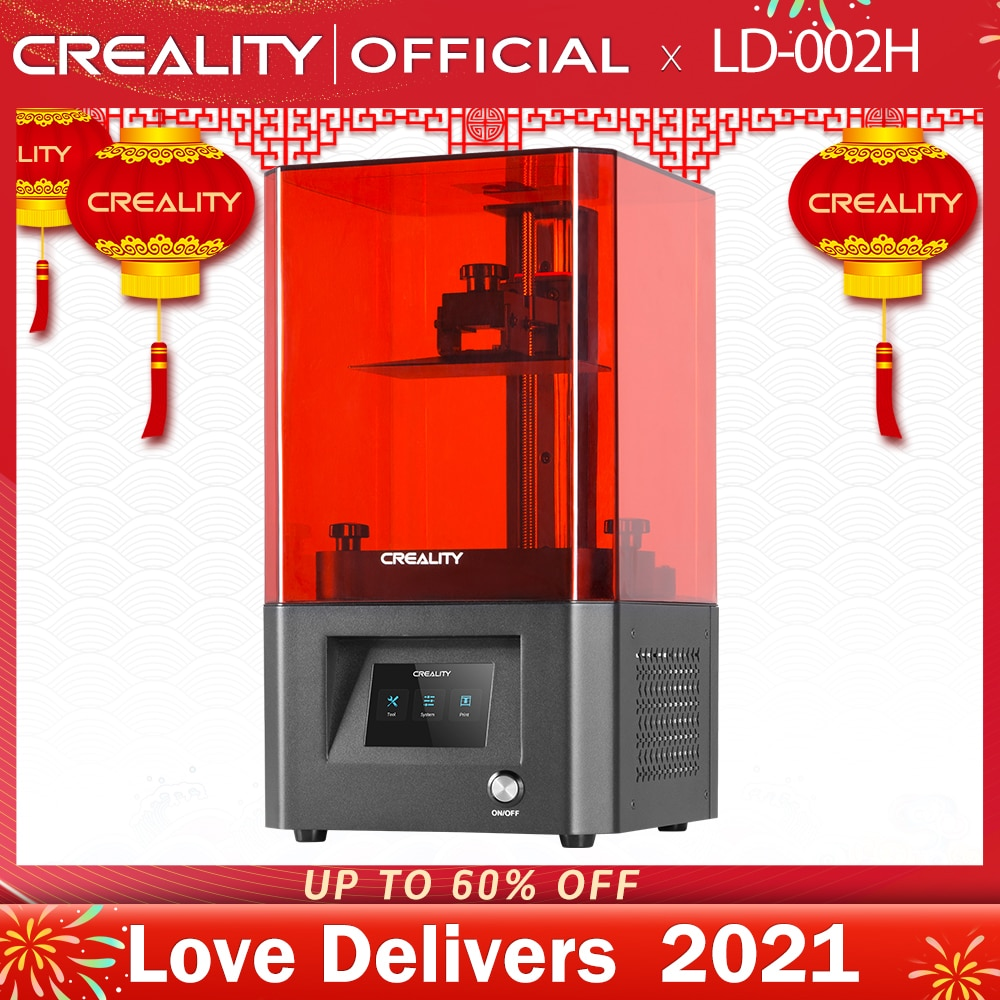 CREALITY 3D Printer LD-002H Photon 3D Drucker high precision LCD light curing 360-degree visual printing 3d printer