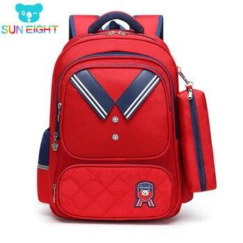 SUN EIGHT NEW School Bags for Girls School Bag Children Backpack Orthopedic Back Kids Bags
