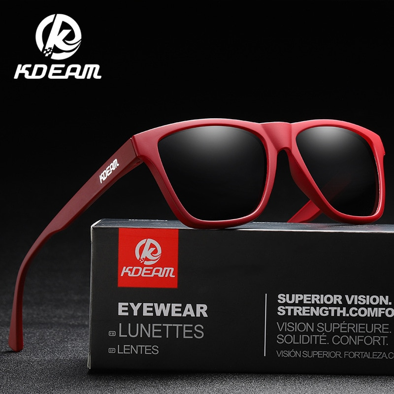 Kdeam's New True Film Thick Polarizing Sunglasses TR90 Frame Outdoor Sports Windproof Goggles 731 Glasses Wholesale Sunglasses enlarge
